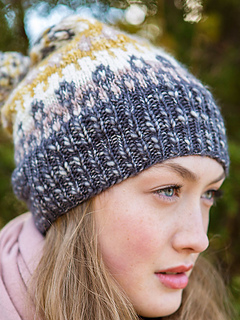 Mira hat free pattern by Amy Christoffers, Berrocco yarns