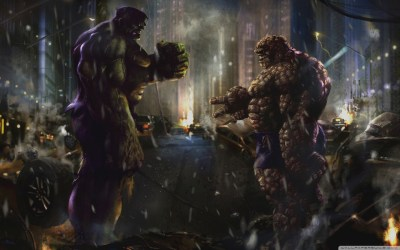 1 Hulk Vs Thing HD Wallpapers | Backgrounds - Wallpaper Abyss