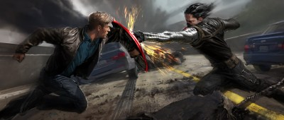 Captain America: The Winter Soldier HD Wallpaper | Background Image | 4000x1702 | ID:434690 ...
