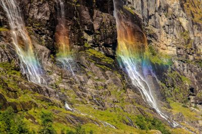 Seven Sisters Waterfall, Norway Full HD Wallpaper and Background Image | 2736x1824 | ID:641343