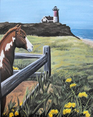 Lighthouse Horse