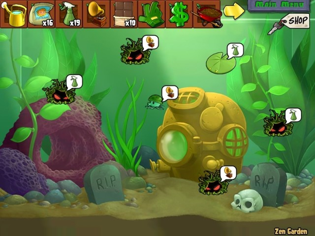 My Aquarium Garden   Plants vs. Zombies Photo (25980696)   Fanpop