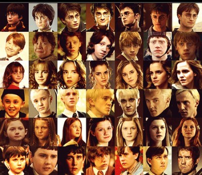 Harry Potter images Characters over the years wallpaper and background photos (30028654)