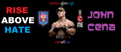 John Cena images john cena rising above hate HD wallpaper and background photos (30773631)