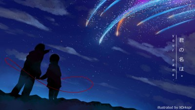 Your Name. 4k Ultra HD Wallpaper | Background Image | 3840x2160 | ID:774989 - Wallpaper Abyss