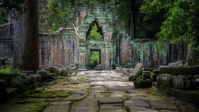 Old Temple in Cambodia HD Wallpaper | Background Image | 1920x1080 | ID:880520 - Wallpaper Abyss