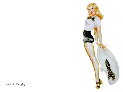 アメリカンレトロな【ピンナップガール Pin up girl】 PCデスクトップ壁紙【50年代】 - NAVER まとめ