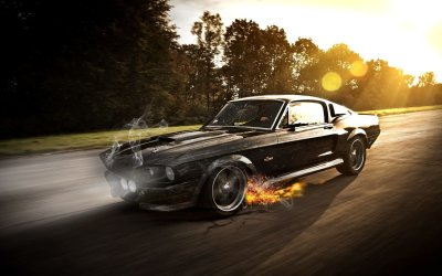 1748 Muscle Car HD Wallpapers | Background Images - Wallpaper Abyss