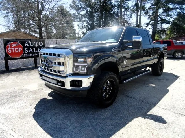 2012 Ford F-250 Super Duty Lariat Crew Cab 4WD Used Cars In Oneonta, AL  35121
