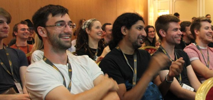 Developers at the Develop in Brighton Conference