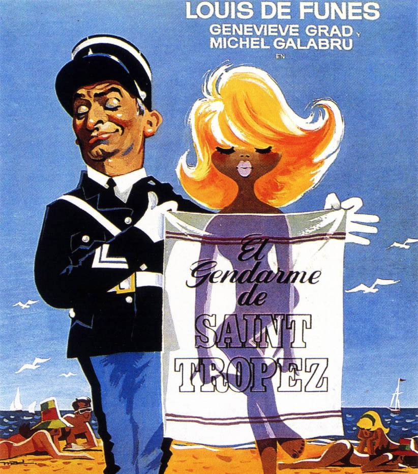 Le gendarme à Saint-Tropez