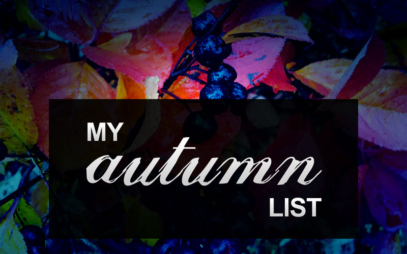 Imaginary Karin - my autumn list