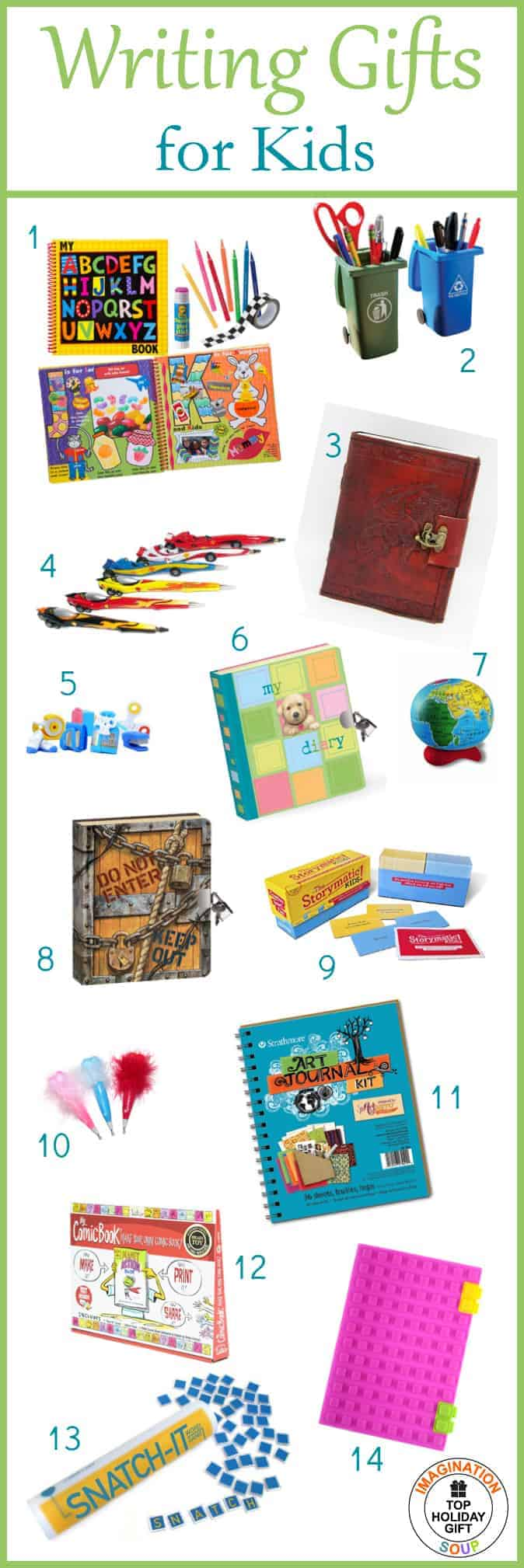 Smart Kids Writing Gifts Kids Imagination Soup Gifts Writing Gifts Kids Under 10 Ftsideaschildren gifts Gifts For Kids