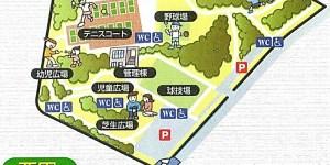 ①小幡緑地_地図