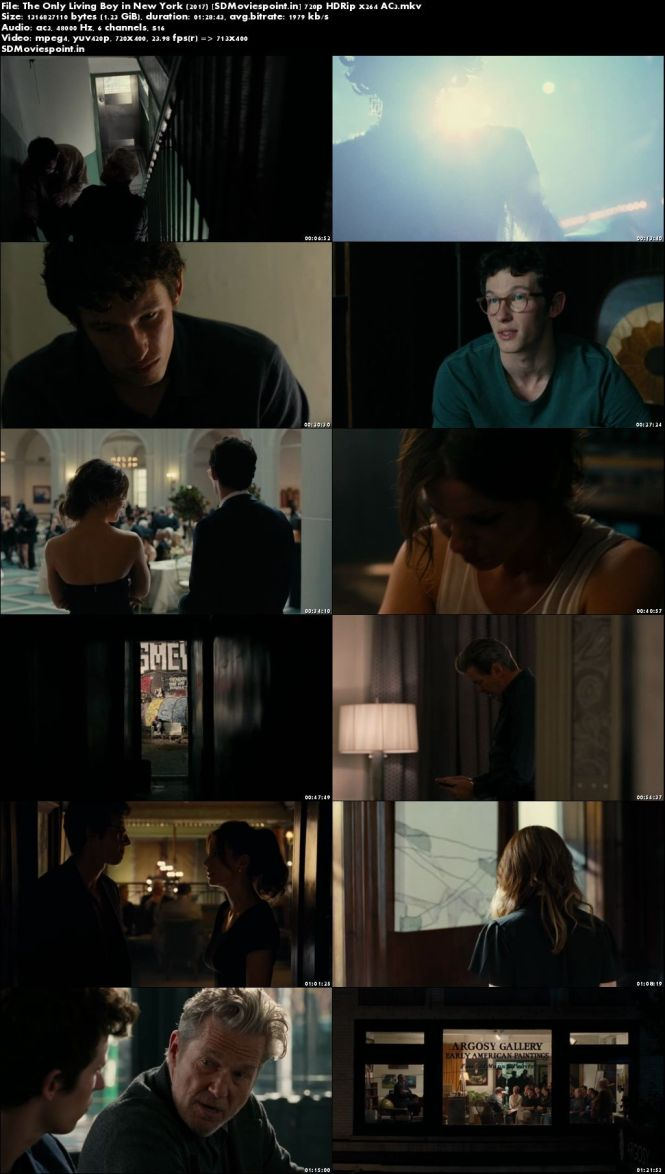Screen Shots The Only Living Boy in New York 2017 Full HD Movie Download 720p