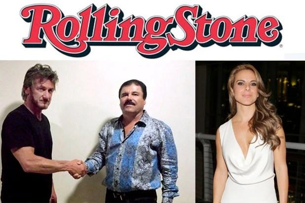 Sean Penn, Chapo Guzman, Kate del Castillo