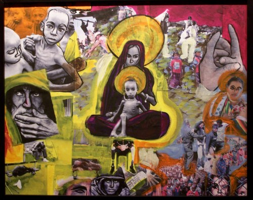 part b of Wounds of Indifference (from gallery show)