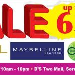 L'Oreal Mega Sale in D'S Two Mall