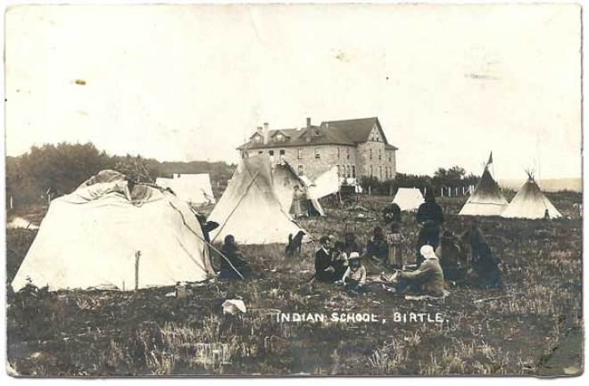 Wanbdi Wakita attended Birtle Indian Residential School