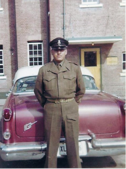 Wanbdi in uniform
