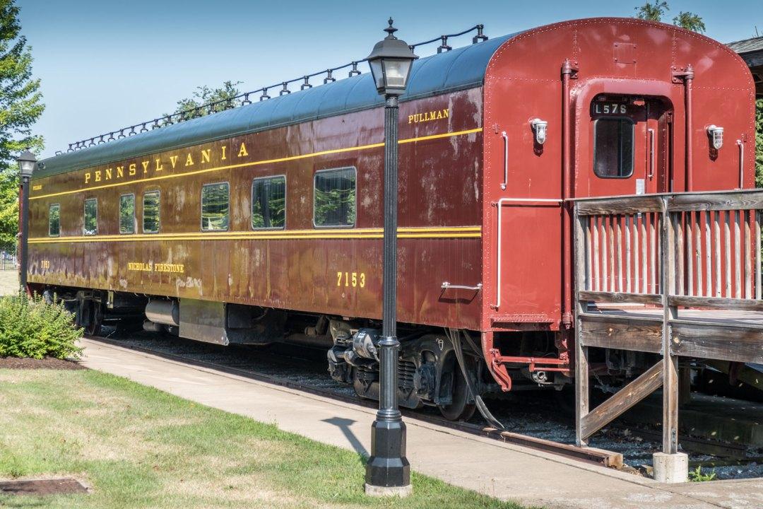 Pullman Railcar at Peter Herdic Transportation Museum Williamsport Pennsylvania