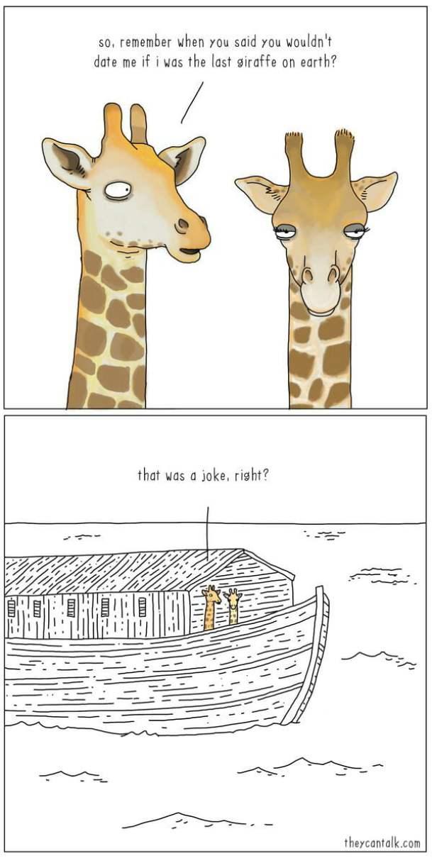 The last giraffe on earth