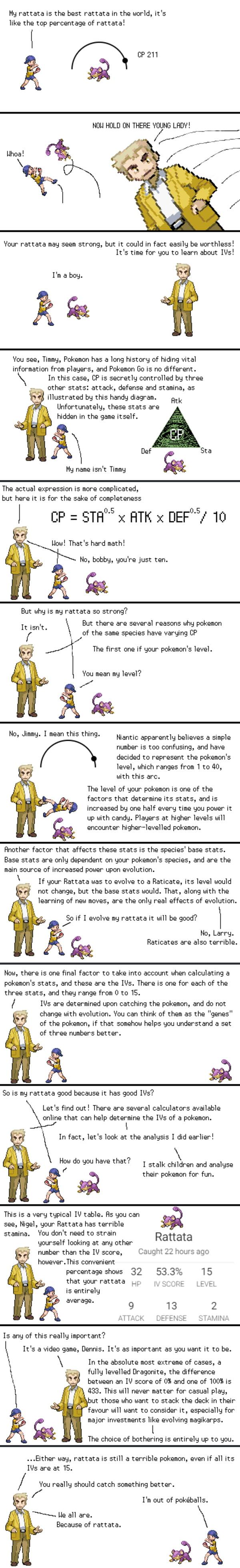 Professor Oak explains IVs in GO