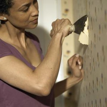 How to Paint Over Wallpaper That Has Been Applied Directly to the Drywall | Home Guides | SF Gate
