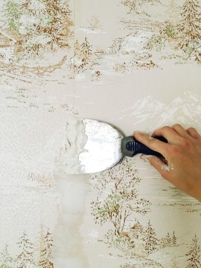 How to Easily Apply Paint Over Hard to Remove Wallpaper | eHow