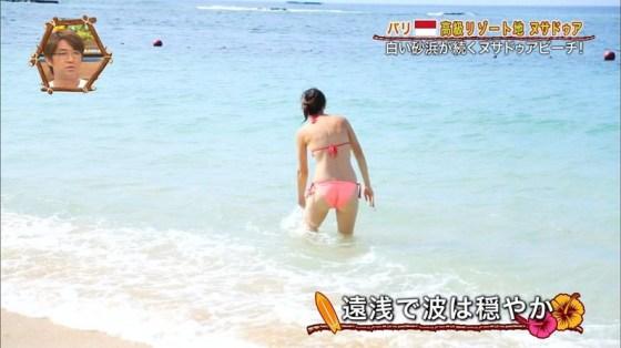 【お尻キャプ画像】今から夏が待ち遠しい、テレビに映る水着からはみでるお尻が見たいんやww 15