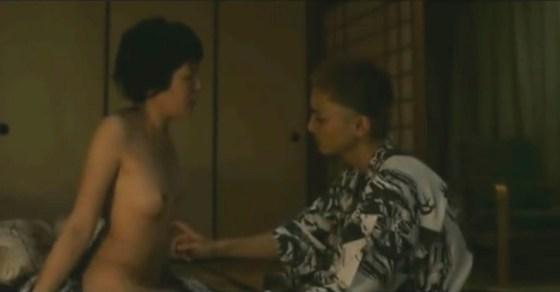 【濡れ場キャプ画像】濡れ場やベッドシーンで見せる女優さんの表情や乳首がエロいw 16