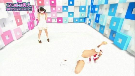 【開脚キャプ画像】テレビで大股広げてあわやハミマンハプニングか!?www 12
