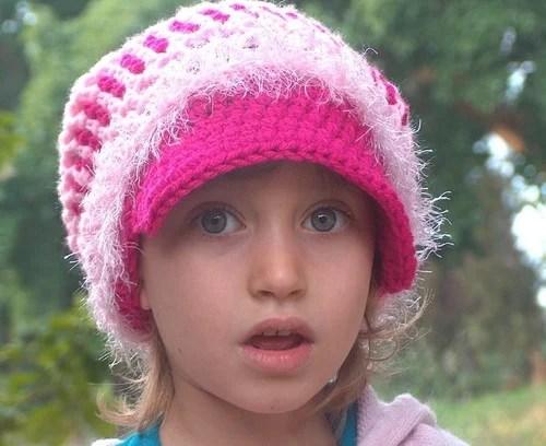 детские подростковые шапки крючком
