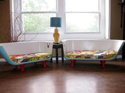 диванчики из акриловых ванн