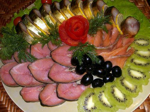 Рыбные блюда на праздничный стол рецепты