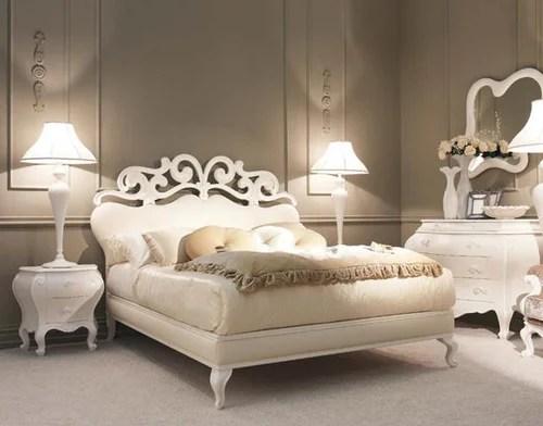 интерьер спальни неоклассика