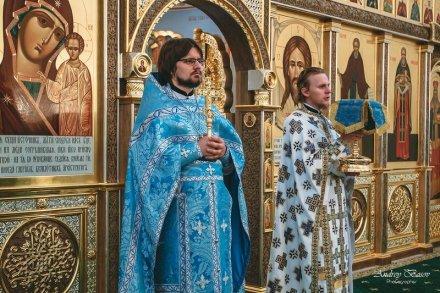 Богослужение на Рождество Пресвятой Богородицы