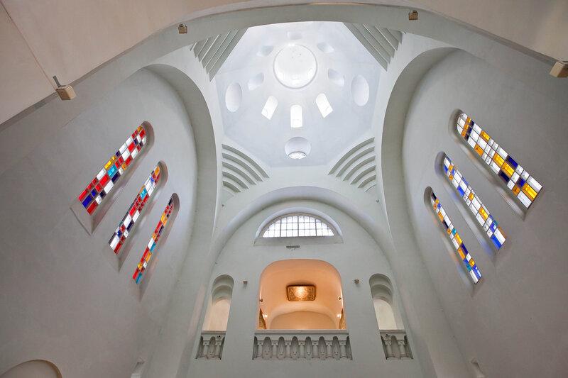 Хоры Троицкой церкви, где рзмещена экспозиция лаковой миниатюры