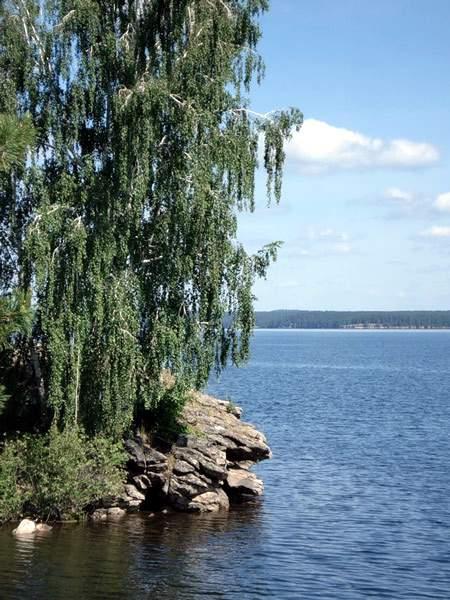 фото озеро синара