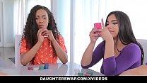 DaughterSwap - Hot Latina Bestfriends Fucking Daddys