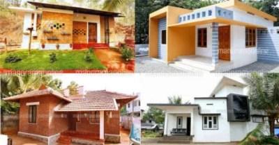 10 ലക്ഷത്തിൽ താഴെ പണിത 4 വീടുകൾ! | 10 lakh budget house ...