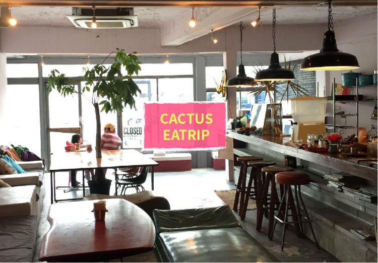 【沖繩,吃中部】CACTUS EATRIP,宜野灣路旁,錯過可惜的天然酵母貝果 (秘境)