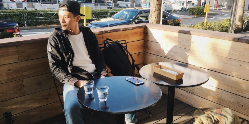 東京旅行|最高級蛋糕捲!涉谷咖啡廳Flannel Style Coffee戶外座位好悠閒