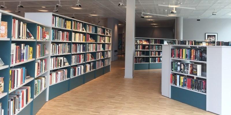 [瑞典圖書館] 即便是圖書館,還是充滿北歐設計感