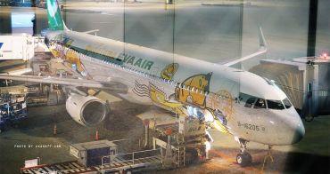 EVA AIR長榮航空 蛋黃哥彩繪機:台北桃園(TPE) – 東京成田(NRT) 經濟艙心得