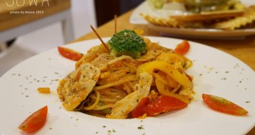 【台中中區】 Sowa索瓦中山店 書香氛圍中嚐手作料理