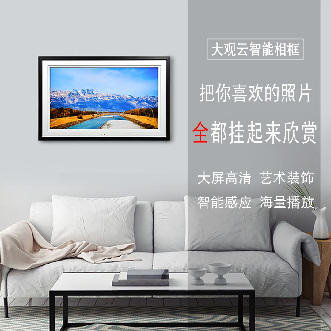 Fullsize Of Large Digital Picture Frame