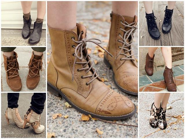 【鞋子】沒靴子就無法過秋冬~7雙秋冬熱門短靴