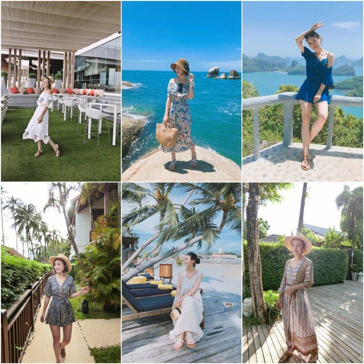 【穿搭】渡假限定✈ 蘇梅島7天6夜12套穿搭&3套BIKINI分享