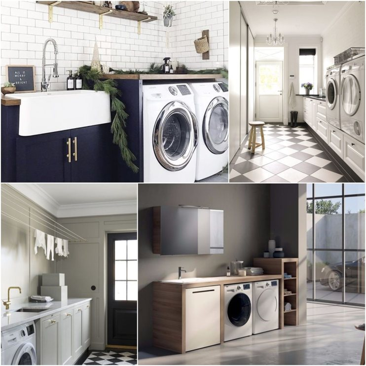 【House】新家裝潢日記-洗衣間/曬衣間